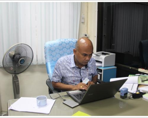 ประชุมคณะ ทำงาน(ชุดวิทยา กร)แนวทางการ ขับเคลื่อน ประเมิน คุณธรรมและความโปร่งใสฯ (ITA Online)