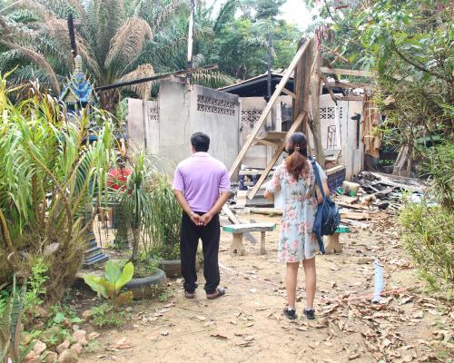 ช่วยเหลือเด็กบ้านถูกไฟไหม้